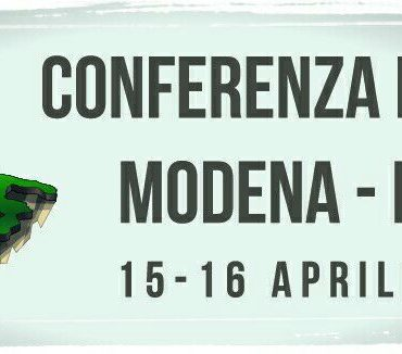 Conferencia Europea Módena, Itália - 15 e 16 de Abril 2017