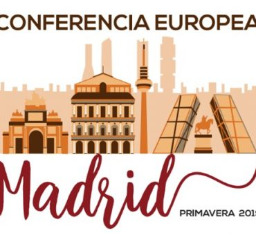 Conferencia Europea en Madrid - Abril de 2019