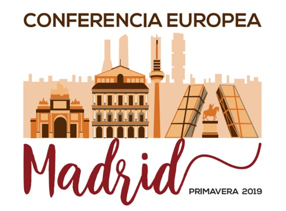 Conferencia Europea en Madrid – Abril de 2019