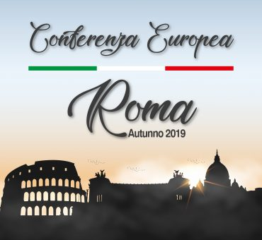 the European Conference of Churches – Autumn 2019 – 01 to 03 November in Rome – Italy.