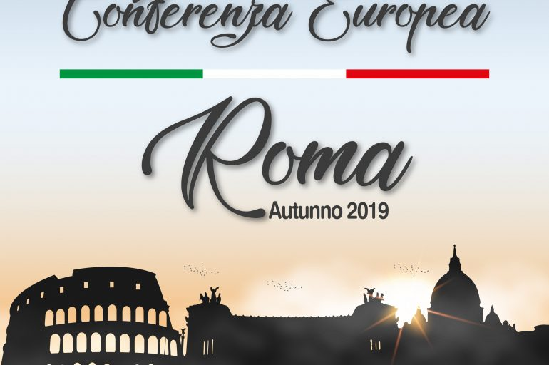 the European Conference of Churches – Autumn 2019 – 01 to 03