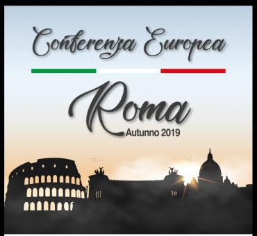 the European Conference of Churches – Autumn 2019 – in Rome – Italy.